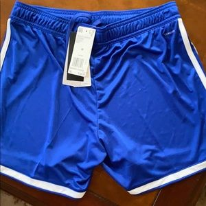 Adidas Blue Regista Sport Shorts